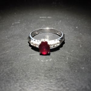 Jewelry - Natural Niassa Ruby Ring q10